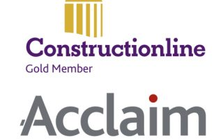 M&G(UK)Scaffolding Ltd Gold Member of Constructionline and Acclaim Accreditation